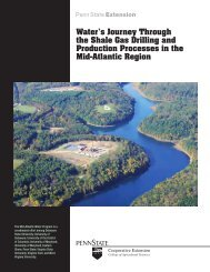 Water's Journey Through the Shale Gas Drilling and Production ...