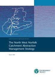 The North West Norfolk Catchment Abstraction Management Strategy