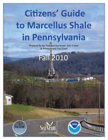 Citizens' Guide to Marcellus Shale in Pennsylvania - Maryland ...