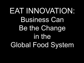 EAT INNOVATION: - The INCLEN Trust