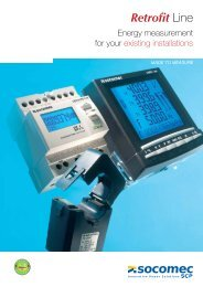 RETROFIT Line brochure - Socomec