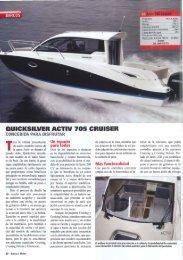 Prueba Activ 705 Cruiser - Quicksilver Boats