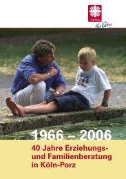 Festschrift anlässlich des 40-jährigen Jubiläums ... - Online-Beratung