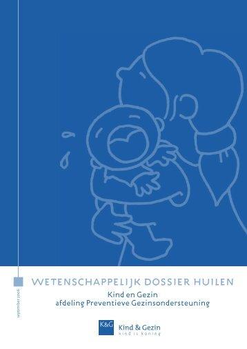 Wetenschappelijk dossier Huilen 2006 - Kind en Gezin