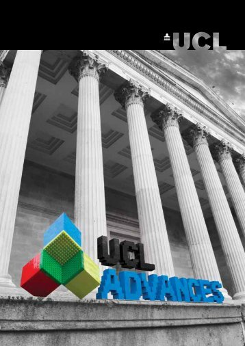 Download the UCL Advances 5 year review booklet