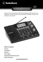 Outdoor Scanner - Ham Discone Antenna 25     - Radio Shack