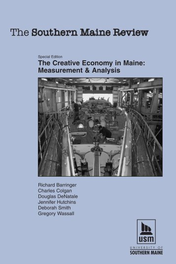 The Creative Economy in Maine - New England Environmental ...