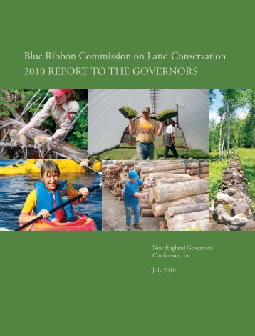 Blue Ribbon Commission on Land Conservation 2010 REPORT TO ...