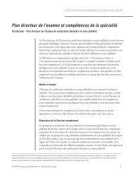 Plan directeur de l'examen et compétences de la ... - NurseONE