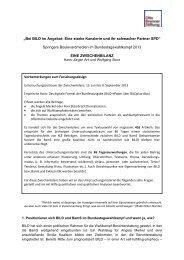 Springers Boulevardmedien im Bundestagswahlkampf 2013