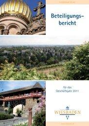 Beteiligungsbericht 2011 (PDF | 3,37 MB) - Landeshauptstadt ...
