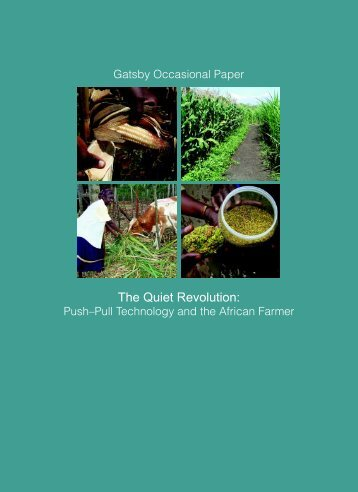 Push-Pull Technology and the African Farmer - Infonet-Biovision