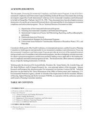 Financing Environmental Permit, Compliance and ... - Inece
