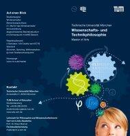 Wissenschafts- und Technik philosophie - Carl von Linde-Akademie