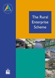 What is the Rural Enterprise Scheme? - Tourisminsights.info