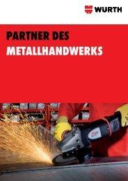 Metallbroschüre - Würth
