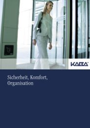 Kaba - Sicherheit, Komfort, Organisation