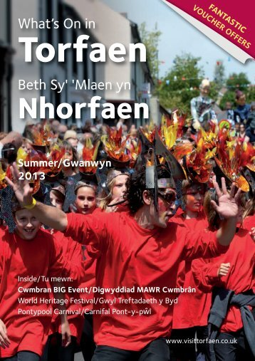 Download the What's On Guide - Visit Torfaen