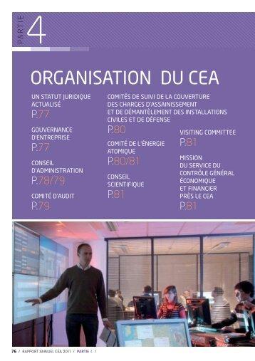 Organisation du CEA