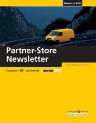Partner-Store Newsletter III/02
