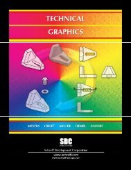 978-1-58503-395-9 -- Technical Graphics - SDC Publications
