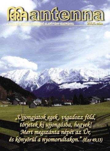 2010 6. szám - Magyar Evangéliumi Rádió