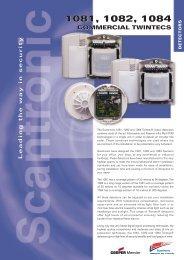 5609CS 1080/81/84 Datasheet - Cooper Security