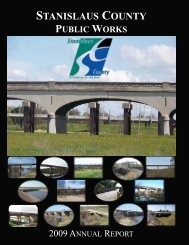 Public Works 2009 Annual Report - Stanislaus County