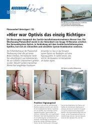 Ãœberbauung Platanenhof in Unterägeri/ZG - R. Nussbaum AG