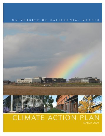 climate action plan - Campus Sustainability - University of California ...