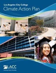 Los Angeles City College Climate Action Plan - ACUPCC Reports ...