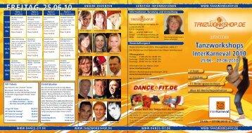 FREITAG 25.06.10 - Tanzworkshop.de