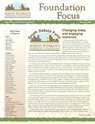 th DakotaFun - South Dakota Community Foundation