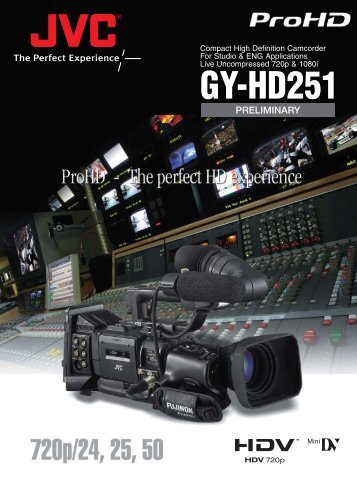 GY-HD251 - VideoCenter