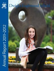 2012 Annual Report (downloadable PDF) - Dwight-Englewood School