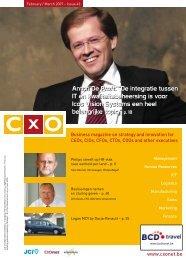 """Anton De Proft: """"De integratie tussen IT en ... - CXO"""