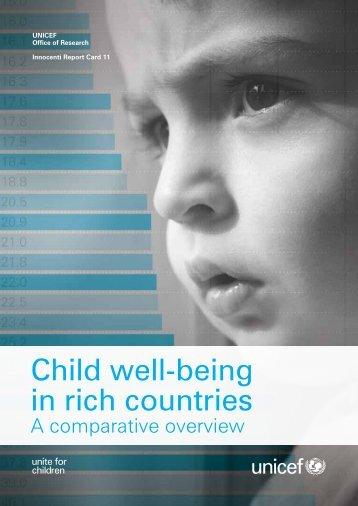 UNICEF-Child-WellBeing