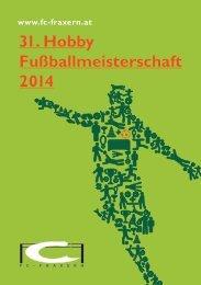 31. Hobby Fußballmeisterschaft 2014