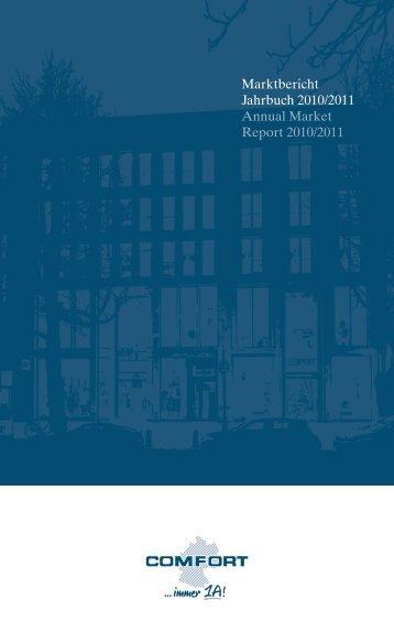 Marktbericht Jahrbuch 2010/2011 Annual Market Report ... - Comfort