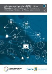 PHEA - Unlocking the Potential of ICT in Higher Education WEB