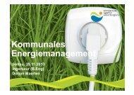 Kommunales Energiemanagement