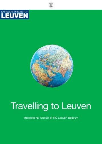 Travelling to Leuven - KU Leuven