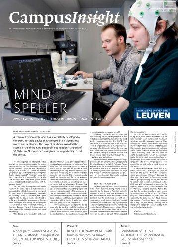 MIND SPELLER - KU Leuven
