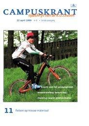 11 fietsen op nieuw materiaal - KU Leuven