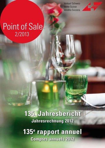 """Verkauf Schweiz """"Point of Sale 2/2013"""""""