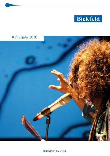 Kulturjahr 2010 - Kulturamt Bielefeld