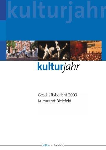 Kulturjahr 18.2.04 - Kulturamt Bielefeld