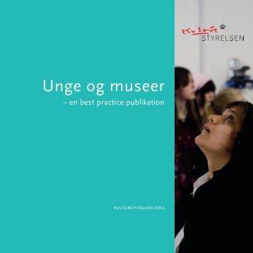 Download Unge og museer - Kulturstyrelsen