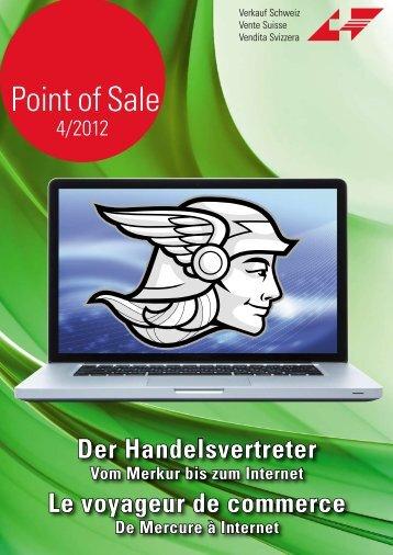 """Verkauf Schweiz """"Point of Sale 4/2012"""""""
