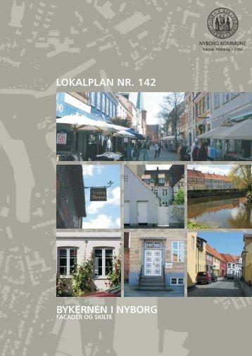 Lokalplan for Nyborg Bymidte, facader og skilte